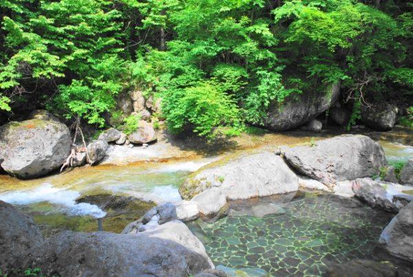 自然の中で秘湯を堪能する岩手でカップルにおすすめの日帰り温泉